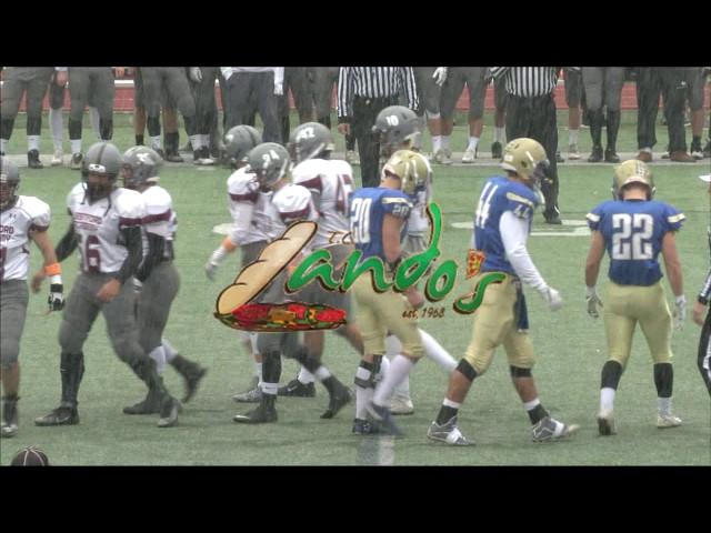 Colonials Football week 12 vs Westford 11/24/16