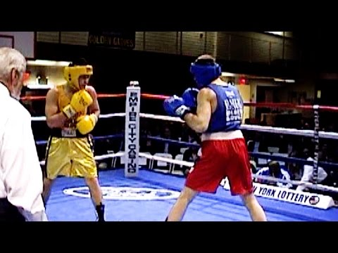 NY GOLDEN GLOVES BOXING @ NEW YORK ATHLETIC CLUB : 165 lb  open   3 rounds