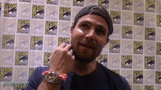 Stephen Amell | Arrow Season 8 | Comic-Con 2019 | Crisis on Infinite Earths