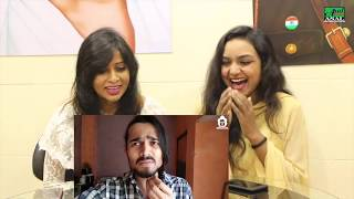 BB Ki Vines-   Group Study   Reaction By Chandni & Sarita   