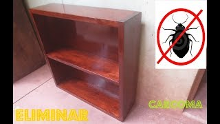 Como Eliminar Carcoma Insectos De Madera Para Siempre Metodo Casero Luis Lovon Youtube