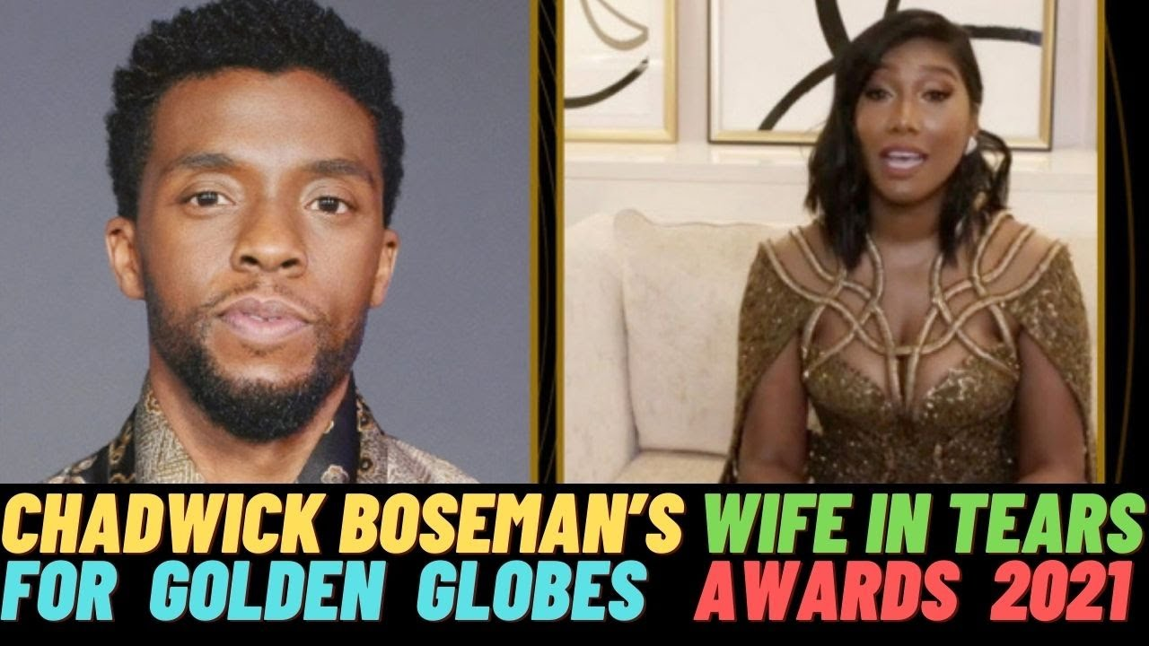 Chadwick Boseman Wins Best Actor Golden Globe; His Widow ...
