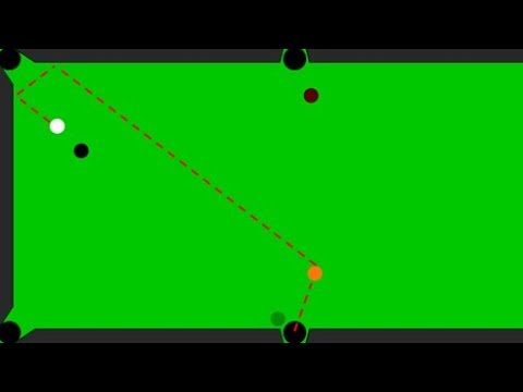 AI learns to play pool