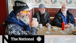 CBC News: The National | Provinces take calculated reopening risks | Feb. 8, 2021