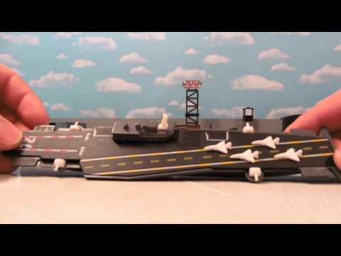 MINIATURE AIRCRAFT CARRIER TOY REVIEW!