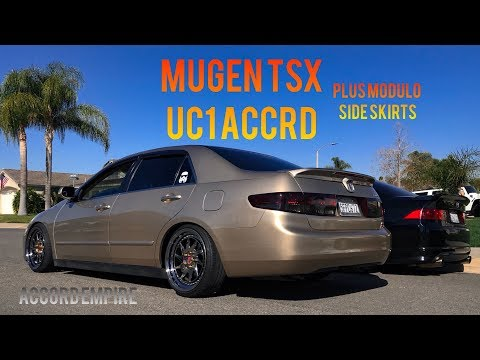 Mugen Acura TSX and Modulo Side Skirts for the Accord