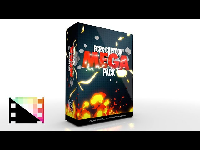 FCPX Cartoon Mega Pack - Animated hand-drawn elements for FCPX - Pixel Film Studios