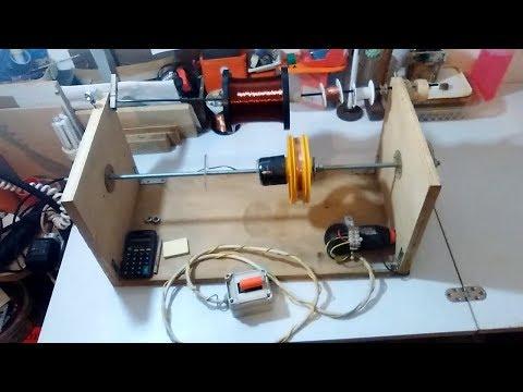 Homemade Coil Winding Machine