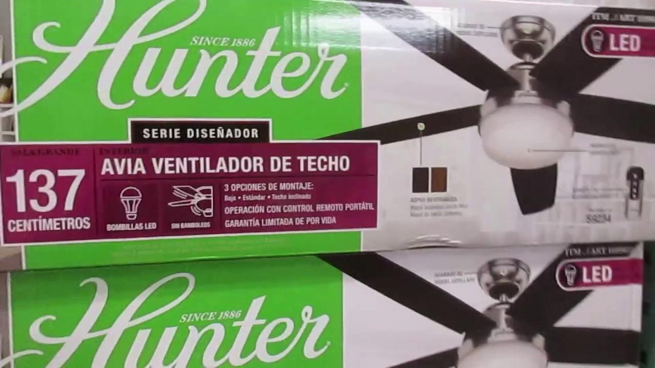 Hunter Avia Ceiling Fan At Costco