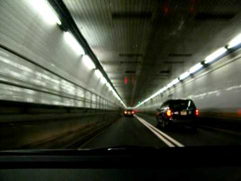 Holland Tunnel from New Jersey to New York