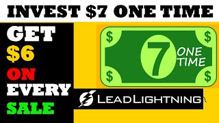 lead lightning compensation plan review for making money online as beginner