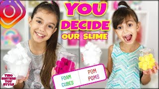 Instagram Followers CONTROL our SLIME (you decide)