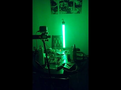 DIY Green Underwater Submersible Night Fishing Light