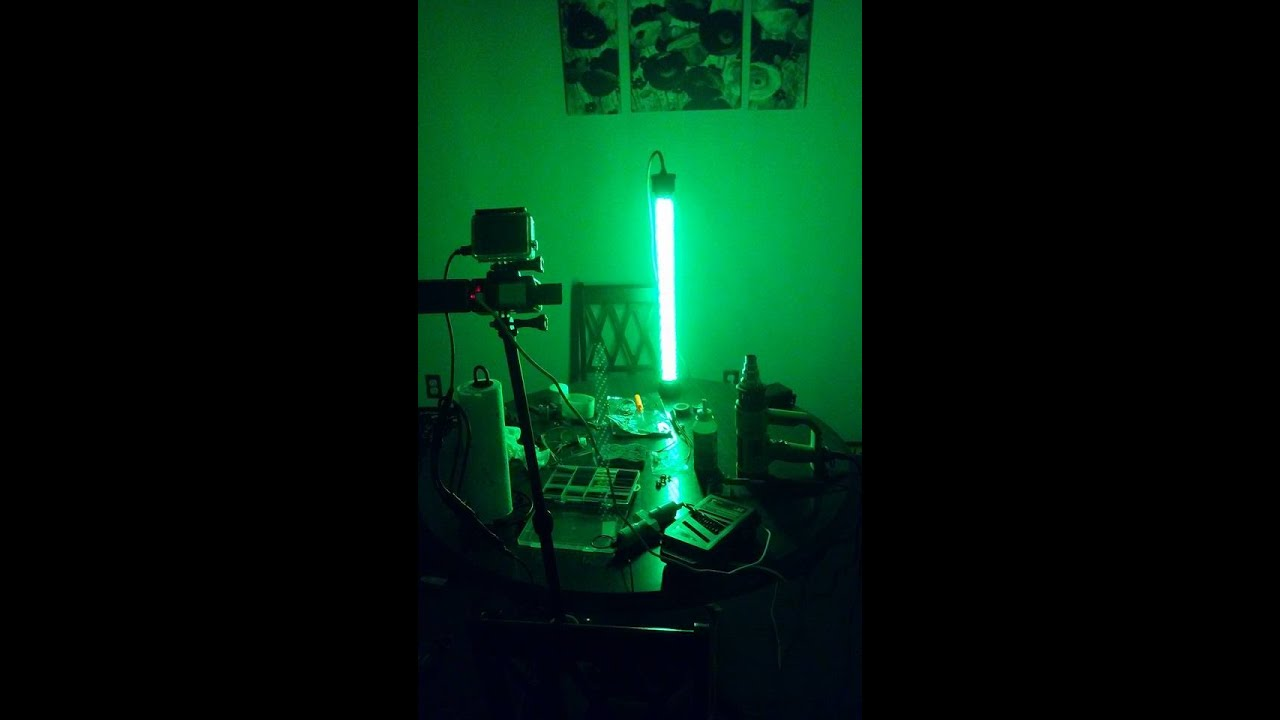 diy green underwater submersible night fishing light - youtube, Reel Combo