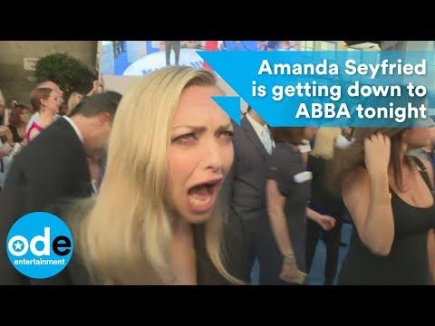 Amanda Seyfried is getting down to ABBA tonight