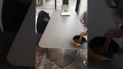세라믹식탁의 진실??