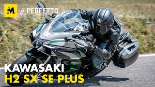 Kawasaki H2 SX SE+ TEST: 200 cv, 300 km/h... la chiami touring? [English Sub.]