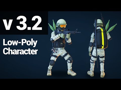 Low Poly FPS Pack 3.2 Trailer - Available On The Unity Asset Store