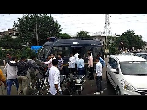 Police detained people in surat from corporators office who came for snacks