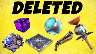 Fortnite - Season 7 FULL PATCH NOTES - THEY DELETED SO MUCH..
