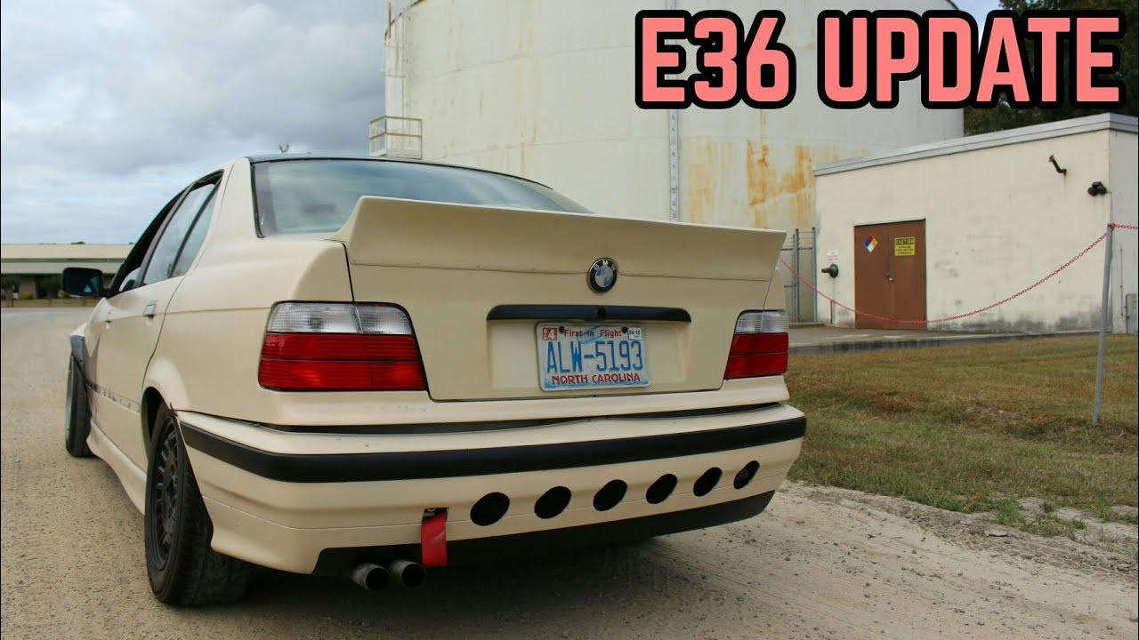 Quick E36 Update Bmw E36 325i Sharkcar Drift Build Youtube