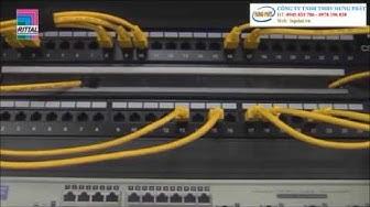 Hướng dẫn lắp đặt tủ rack trong thi công mạng lan