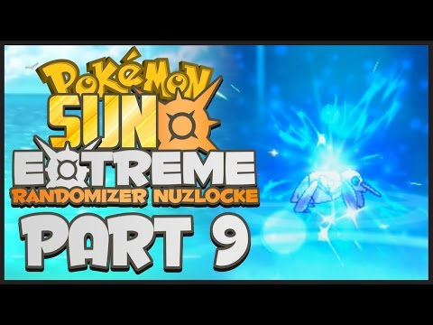 OUR FIRST EVOLUTION!!! | Pokemon Sun and Moon EXTREME Randomizer Nuzlocke - Part 9