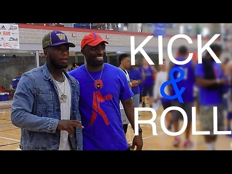 KICK & ROLL With George Kiel and Nate Robinson ! 3 On 3 Basketball Tournament/ Sneaker Expo!