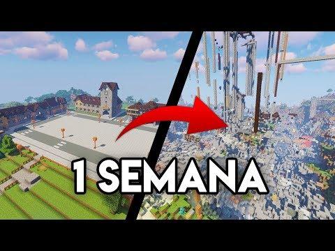Abro un server ANÁRQUICO de Minecraft por 1 SEMANA Y PASA ESTO