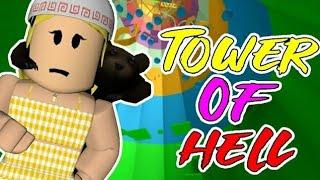 COMPLETANDO 15.000 PONTOS NO TOWER OF HELL! (Roblox)