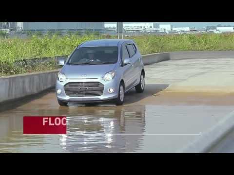 Daihatsu Ayla Test Banjir