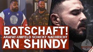 Arafat Abou-Chakers Crew mit Videobotschaft an Shindy!