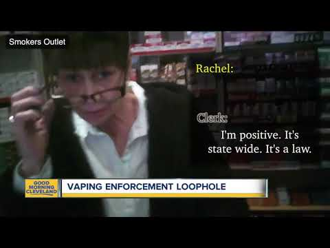 """American Lung Association calls Ohio's new vaping law """"meaningless"""" due to enforcement loopholes"""