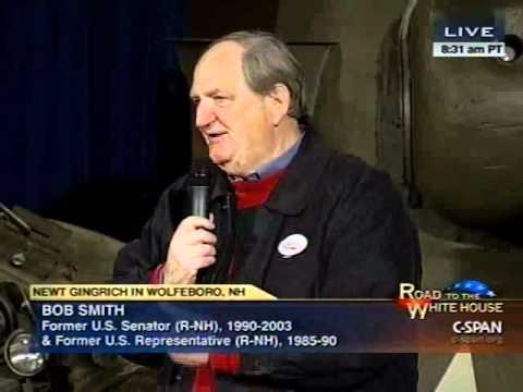 Former NH Senator Bob Smith Endorses Newt Gingrich
