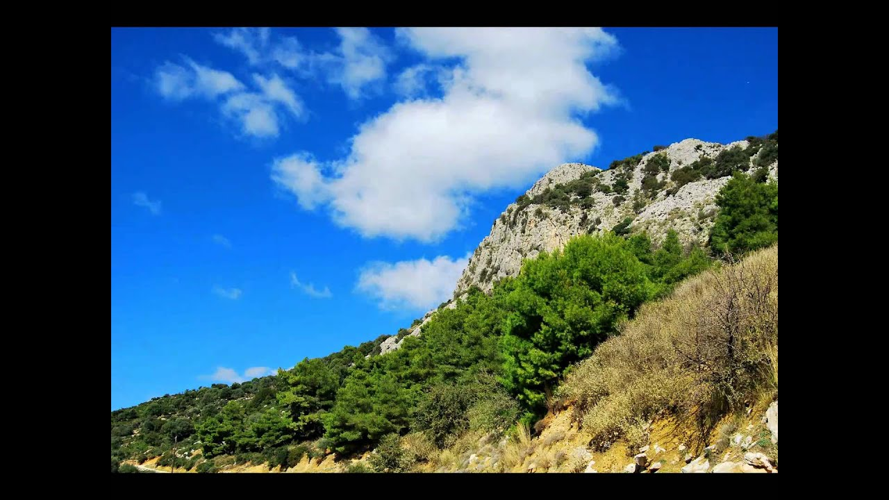 greek nature landscape greece patra kalogria araxos achaia