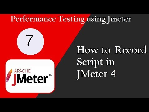 JMeter 4 0: How to record scripts in JMeter 4 [Call/Whatsapp