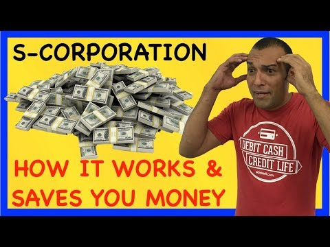 S-Corporation Form 2553 How It Works and Saves Tax Dollars o