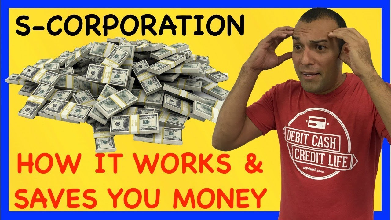 S-Corporation Form 2553 How It Works and Saves Tax Dollars on ...