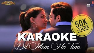 Dil Mein Ho Tum (Cheat India) - KARAOKE With Lyrics || Armaan Malik || Imran Hashmi || BasserMusic