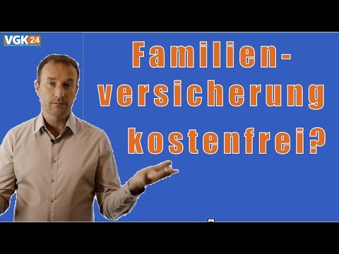 Familienversicherung In Der Gesetzlichen Krankenversicherung