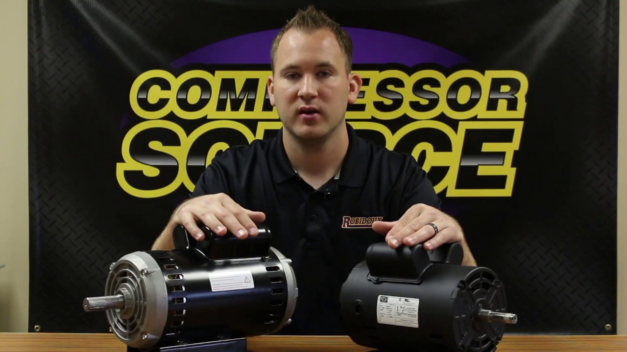 How To Size The Right Replacement Electric Motor For Your Air Compressor Compressor Source Youtube