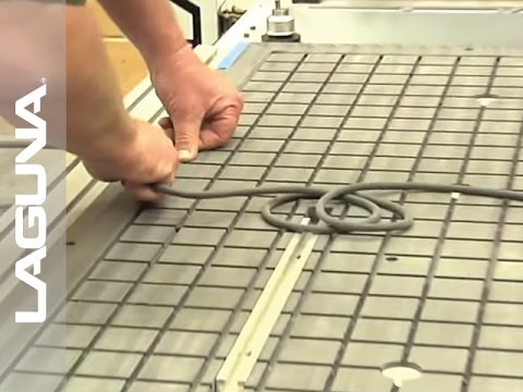 Vacuum Table Setup for CNC Router