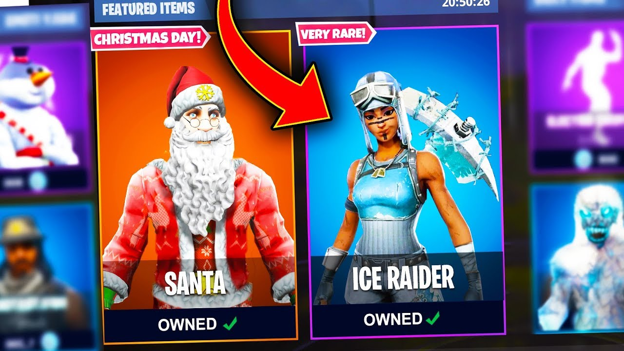 Top 5 Fortnite Christmas Skins We Need Added To Fortnite Youtube Find derivations skins created based on this one. top 5 fortnite christmas skins we need added to fortnite