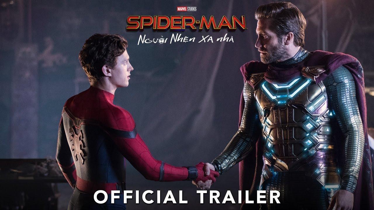 SPIDER-MAN: FAR FROM HOME | Người Nhện Xa Nhà | Official Trailer #2 | KC 05.07.2019