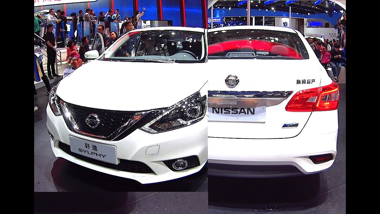 NEW 2016, 2017 facelift for the Nissan Sylphy, Nissan ...