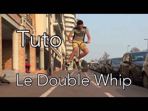 Comment Faire Un Double Tailwhip Trotinette Freestyle - [TutoFR] #4
