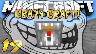 """trolled By The Chicken Chest?!"" - Crazy Craft 2.1 (minecraft Modded Survival) - #19"