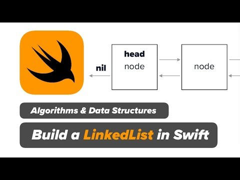 Swift LinkedList Data Structure - Insert Node At Index Algorithm for Linked List in Swift (Ep 7) thumbnail