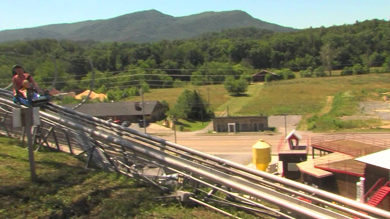Fun At The Coaster At Goats On The Roof Alpine Coaster