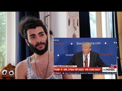 Gay Syrian Refugee Reacts to Trump + Fox News